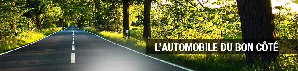 Côté Route, l'automobile du bon côté