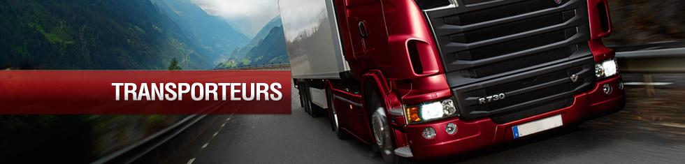 Côté Route propose ses services aux transporteurs : vente et entretien de pneus poids lourds