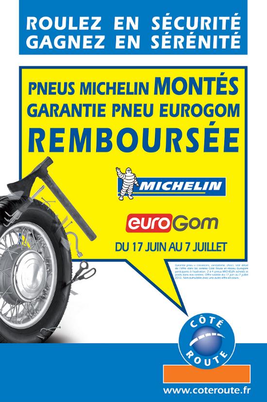 La garantie pneus, un service euroGom contre le vandalisme, chocs et obstacles